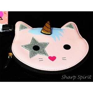 Clutch Luv Betsey Johnson Cat Narwhal Wristlet
